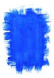Blauer Acrylhintergrund Lizenzfreie Stockfotos