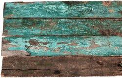 Blaue alte hölzerne Beschaffenheit Stockbild