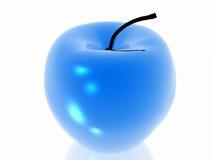 Blauer Apfel Lizenzfreie Stockfotografie