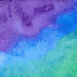 Blauer Aquarellhintergrund Lizenzfreie Stockfotografie