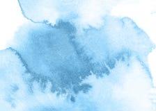 Blauer Aquarellhintergrund Schöne Beschaffenheit Lizenzfreie Abbildung