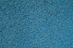 Blauer Asphalt. Stockfoto