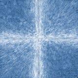 Blauer Auszug Lizenzfreies Stockfoto