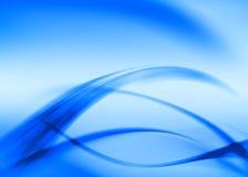 Blauer Auszug Lizenzfreie Stockfotos