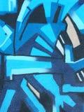 Blauer Auszug Lizenzfreie Stockfotografie