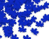 Blauer Autum Hintergrund Stockfotos