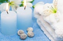 Blauer Badekurort Lizenzfreie Stockbilder