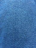 Blauer Baumwollstoff Stockbild