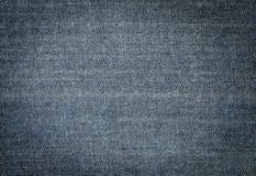Blauer Baumwollstoff Lizenzfreie Stockfotografie