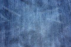 Blauer Baumwollstoff Lizenzfreies Stockfoto