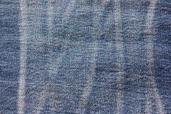Blauer Baumwollstoff Stockfotografie