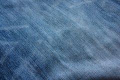 Blauer Baumwollstoff Lizenzfreie Stockfotos