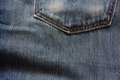Blauer Baumwollstoff Lizenzfreie Stockbilder