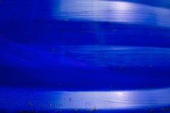 Blauer Behältermetallbeschaffenheitshintergrund Stockbild