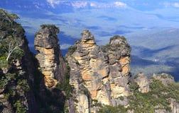 Blauer Berg Australien Lizenzfreie Stockfotos