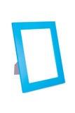 Blauer Bilderrahmen Lizenzfreie Stockfotografie