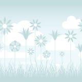 Blauer Blumen-Hintergrund Lizenzfreie Stockbilder