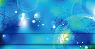 Blauer Blumenhintergrund stockbilder
