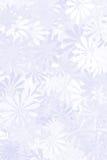 Blauer Blumenhintergrund Lizenzfreie Stockfotografie