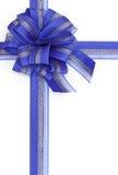 Blauer Bogen Stockfoto