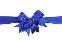 Blauer Bogen Stockbild