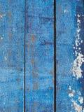 Blauer Bretterboden Lizenzfreie Stockfotografie