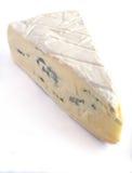 Blauer Briekäsekäse Stockbild