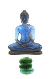 Blauer Buddha lizenzfreie stockfotografie