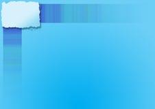 Blauer copyspace Hintergrund Lizenzfreie Stockfotos