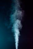 Blauer Dampf Stockfotografie