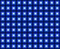 Blauer Dance Floor-Hintergrund Lizenzfreie Stockfotografie