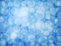 Blauer defocus Zusammenfassungshintergrund vektor abbildung