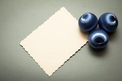 Blauer Dekorationshintergrund Lizenzfreies Stockbild