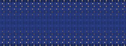 Blauer dekorativer festlicher Hintergrund für Weihnachtspartei lizenzfreie abbildung