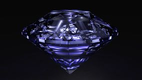 Blauer Diamant lizenzfreie abbildung