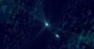 Blauer Digital-Hintergrund Lizenzfreie Stockbilder