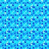 Blauer dreieckiger Hintergrund Moderner geometrischer Hintergrund des Vektors mit Dreiecken Helle Farben Abstrakte Beschaffenheit lizenzfreie abbildung