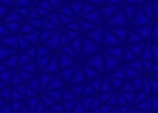 Blauer Dreieckzusammenfassungshintergrund Stockbilder