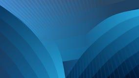 Blauer einfacher abstrakter Hintergrund Lizenzfreie Stockfotos