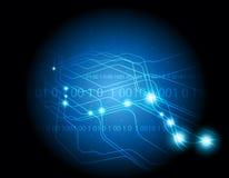 Blauer eleganter Hintergrund Lizenzfreie Stockfotografie
