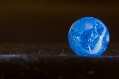 Blauer exzentrischer Marmor 6 Lizenzfreie Stockbilder
