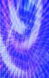 Blauer Farbenhintergrund Lizenzfreie Stockfotografie