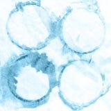 Blauer Farbenhintergrund, Einklebebuchskizze beschriftend Stock Abbildung