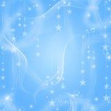 Blauer Feiertags-Hintergrund Stockfotografie