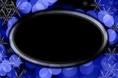 Blauer Feiertags-Hintergrund Lizenzfreie Stockfotos