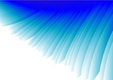 Blauer Flügel-Auszugs-Vektor Stockbilder
