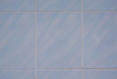 Blauer Fliese-Fußboden Lizenzfreies Stockfoto