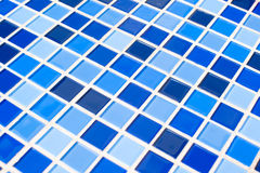 Blauer Fliesehintergrund Stockbilder