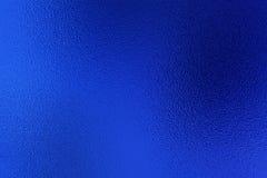Blauer Folienbeschaffenheitshintergrund Lizenzfreies Stockfoto