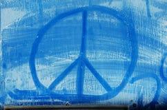 Blauer Frieden lizenzfreie stockfotos